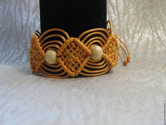 Браслеты ручной работы. Ярмарка Мастеров - ручная работа. Купить Плетеный браслет. Handmade. Зеленый, украшение для женщины, плетеный браслет