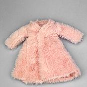 Материалы для творчества handmade. Livemaster - original item Accessories for dolls and toys: Fur coat for dolls BJD 30 cm. Handmade.