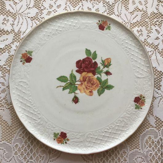 Винтажная посуда. Ярмарка Мастеров - ручная работа. Купить Три блюда Германия Фарфор. Handmade. Комбинированный, винтаж