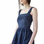 Одежда handmade. Livemaster - original item Cotton dress stylish. Handmade.