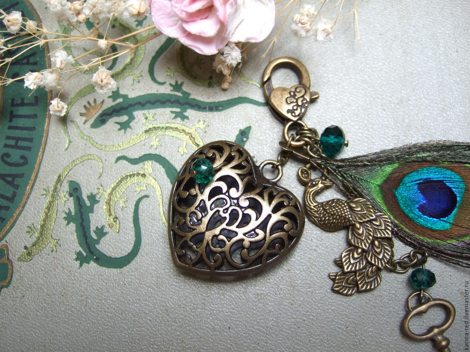 to buy a gift shop gifts key chain for bag keys photo decoration photo shop jewelry keychain openwork heart heart peacock feather boho style accessories vintage style
