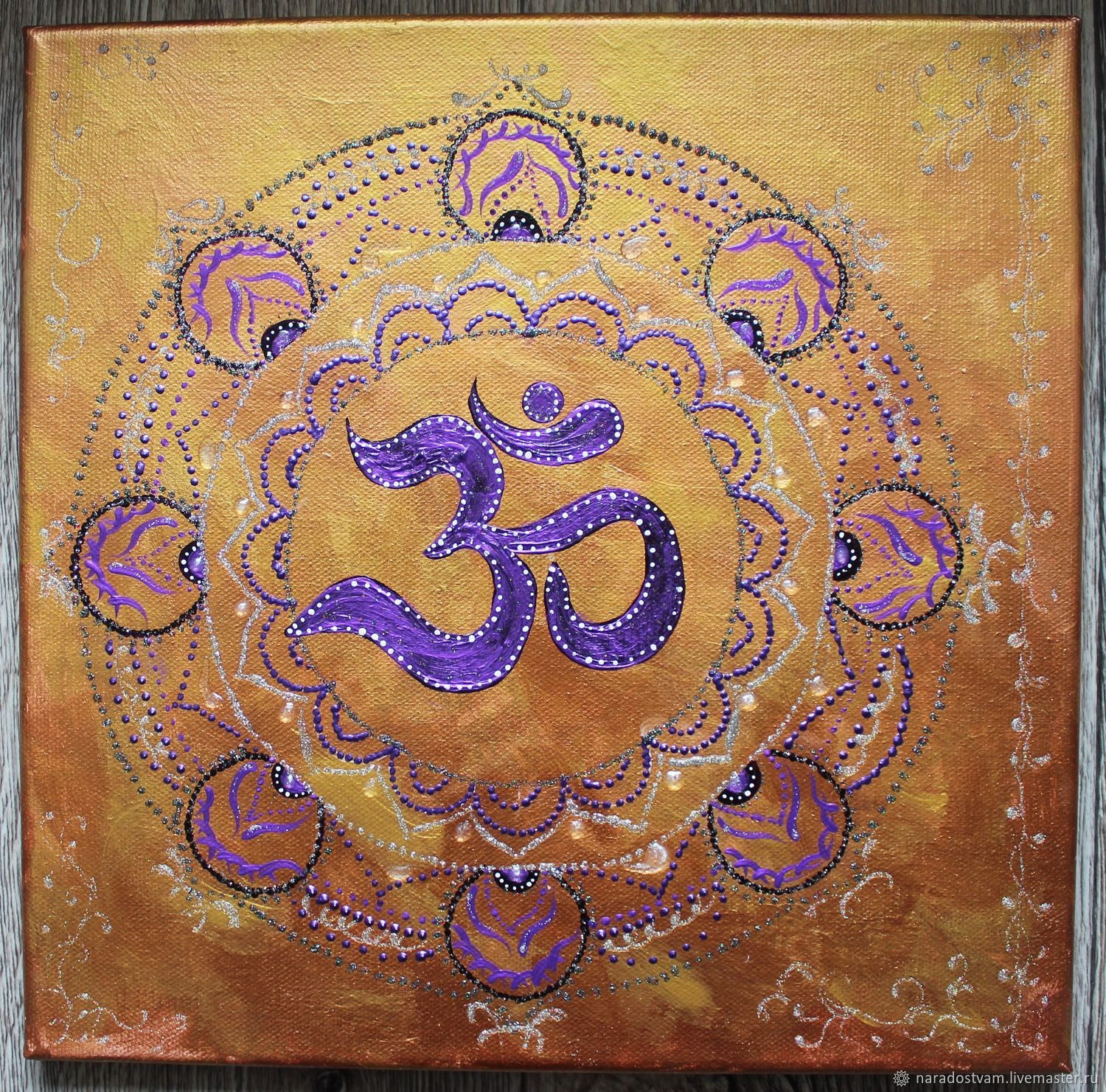 Painting by acrylic om Sign, Pictures, Protvino,  Фото №1