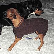 Для домашних животных, ручной работы. Ярмарка Мастеров - ручная работа Свитер для крупной собаки. Handmade.