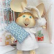 Куклы и игрушки ручной работы. Ярмарка Мастеров - ручная работа Топо Джиджио (Topo Gigio) – игрушка мышь. Handmade.