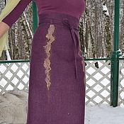 """Одежда ручной работы. Ярмарка Мастеров - ручная работа Женская юбка из комплекта """"Заводь поющих водорослей"""". Handmade."""