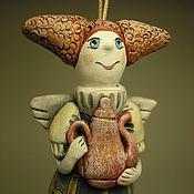Куклы и игрушки ручной работы. Ярмарка Мастеров - ручная работа Колокольчик. Фея с причудливой прической.. Handmade.