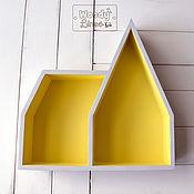 Для дома и интерьера ручной работы. Ярмарка Мастеров - ручная работа Полка-домик Готик. Handmade.