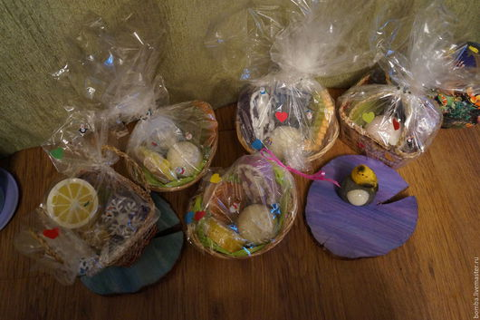 Подарочные наборы косметики ручной работы. Ярмарка Мастеров - ручная работа. Купить Подарочные наборы из мыла и бомбочек. Handmade. Комбинированный