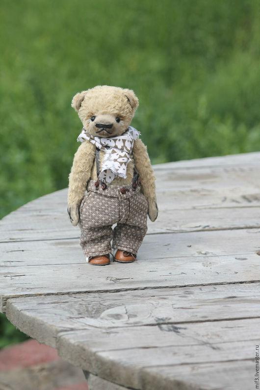 Мишки Тедди ручной работы. Ярмарка Мастеров - ручная работа. Купить Тедди медведь.Тонио. Handmade. Бежевый, медведь тедди