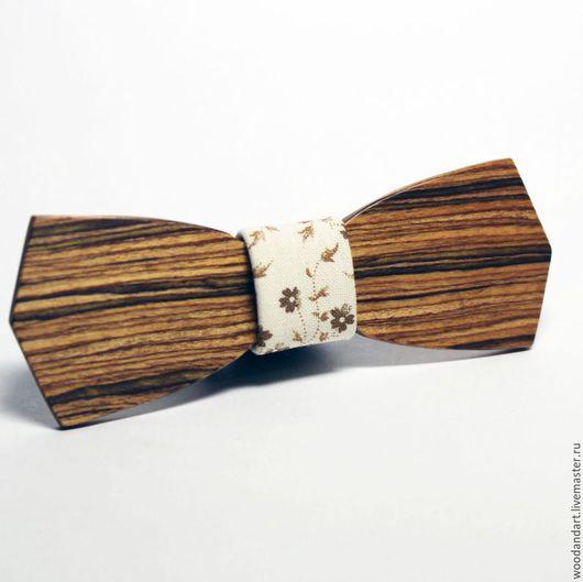 Галстуки, бабочки ручной работы. Ярмарка Мастеров - ручная работа. Купить Деревянная галстук бабочка. Handmade. Бежевый, подарок, свадьба