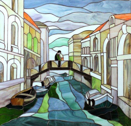 Город ручной работы. Ярмарка Мастеров - ручная работа. Купить Венеция. Handmade. Зеленый, припой
