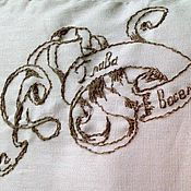 Открытки ручной работы. Ярмарка Мастеров - ручная работа Вышивка гладью и крестом на заказ, открытка,  чехол. Handmade.