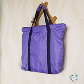 Сумки и аксессуары handmade. Livemaster - original item Shopper bag women`s waterproof casual large. Handmade.