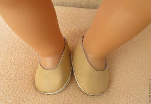 Одежда для кукол ручной работы. Ярмарка Мастеров - ручная работа. Купить Туфельки для куклы. Handmade. Беби бон, обувь для кукол