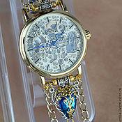"Украшения ручной работы. Ярмарка Мастеров - ручная работа Часы-скелетоны "" Парусник 2"" (часы наручные). Handmade."