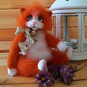 Кот валяный Генрих