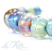 Украшения handmade. Livemaster - original item necklace. lampwork. glass.. Handmade.