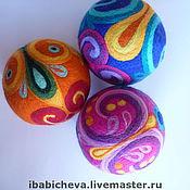 """Куклы и игрушки ручной работы. Ярмарка Мастеров - ручная работа Мяч """"Узоры"""". Handmade."""