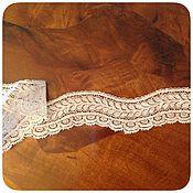 Винтаж ручной работы. Ярмарка Мастеров - ручная работа Антикварное французское кружево. Handmade.