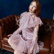 Одежда ручной работы. Ярмарка Мастеров - ручная работа Царское платье из итальянской тафты. Handmade.