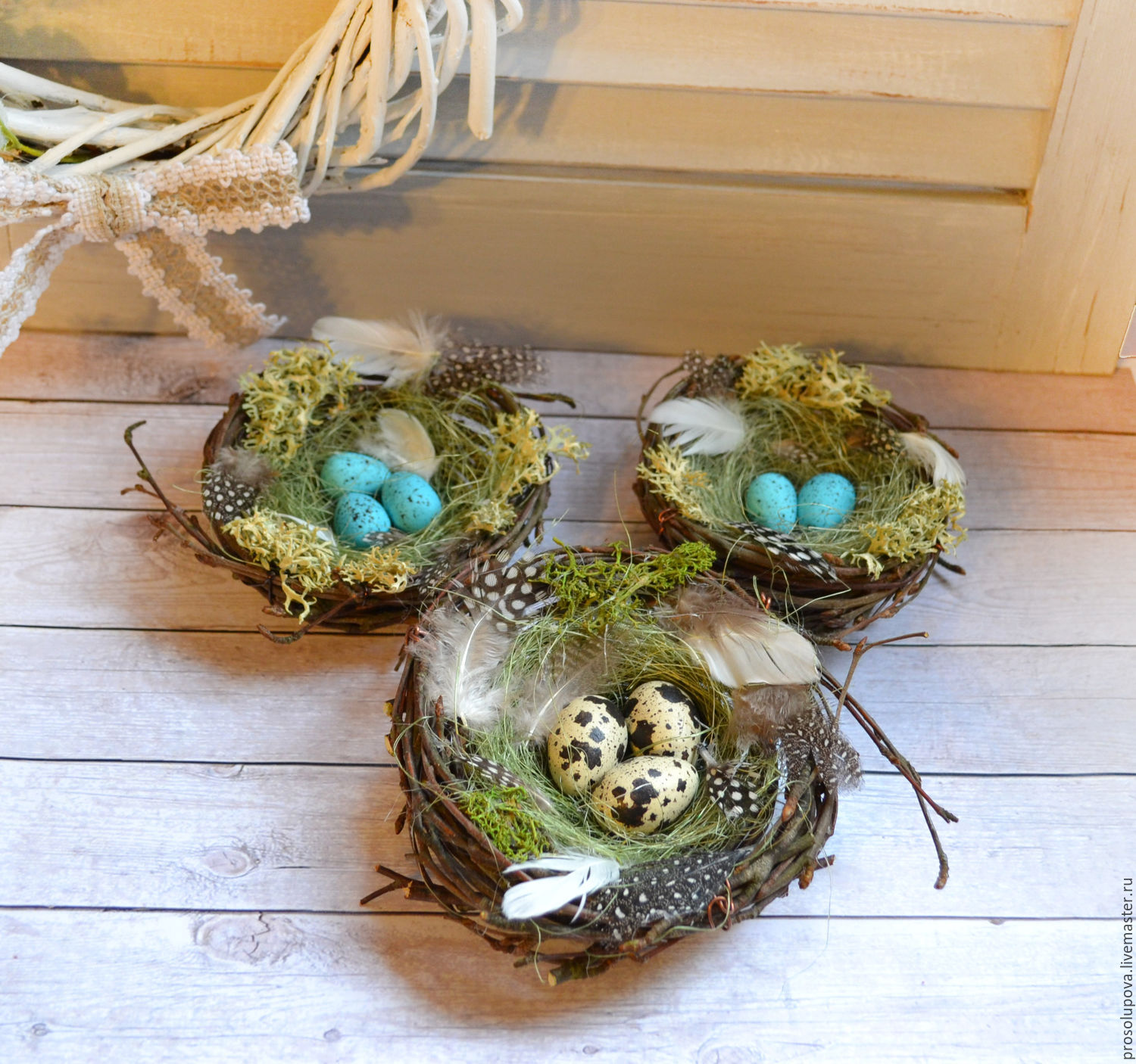 Nest easter shop online on livemaster with shipping nest gift for easter gifts handmade nest easter hobbyfantasy my livemastereaster gift easter negle Images