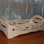 Куклы и игрушки handmade. Livemaster - original item Doll bed for Barbie.302.. Handmade.
