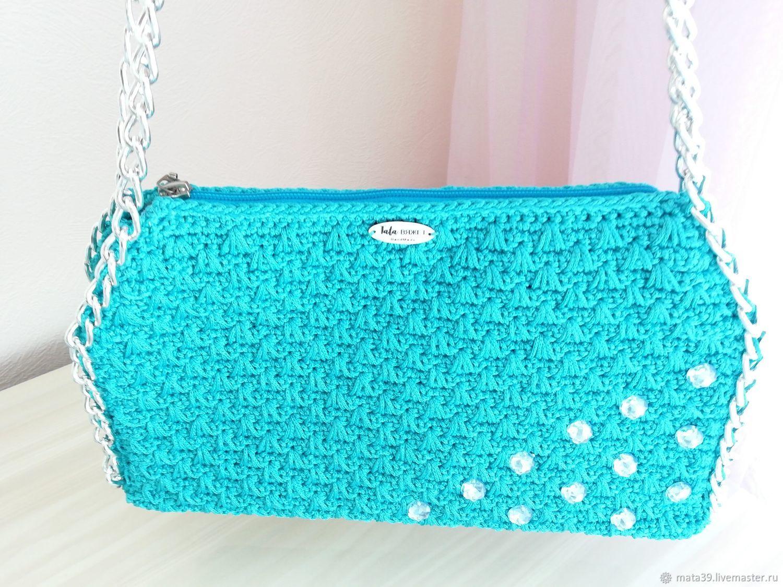 Turquoise women's bag, Classic Bag, Volgograd,  Фото №1