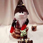 Куклы и пупсы ручной работы. Ярмарка Мастеров - ручная работа Гном Гномик Томас(Gnome Thomas). Handmade.