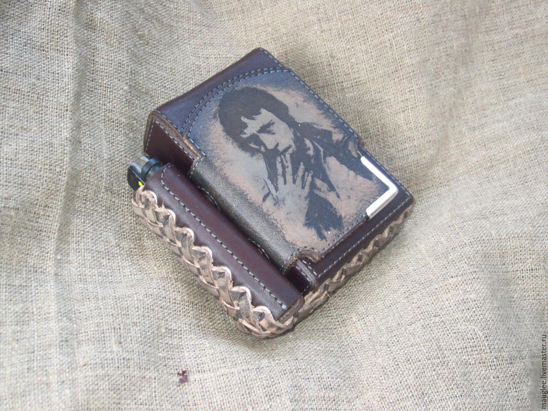 Портсигар пачка сигарет купить табачные стики neo creamy tobacco