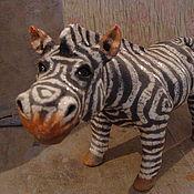Для дома и интерьера ручной работы. Ярмарка Мастеров - ручная работа зебры. Handmade.