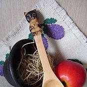 """Посуда ручной работы. Ярмарка Мастеров - ручная работа Ложка """"Кошка"""". Handmade."""