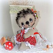 Куклы и игрушки ручной работы. Ярмарка Мастеров - ручная работа Ежик Фелисита. Handmade.