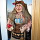 Коллекционные куклы ручной работы. Ярмарка Мастеров - ручная работа. Купить Кукла Баба Яга 4. Handmade. Баба яга
