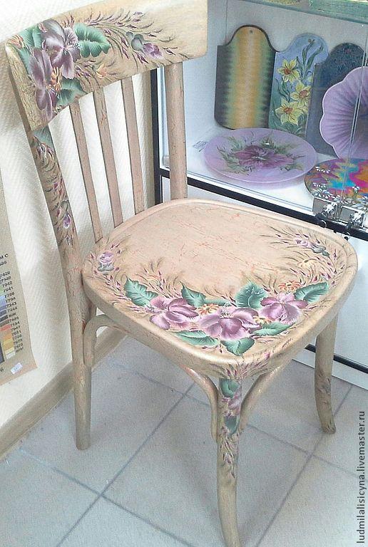 Мебель ручной работы. Ярмарка Мастеров - ручная работа. Купить Венский стул, реставрация. Handmade. Бежевый, Мебель, мебель по старину