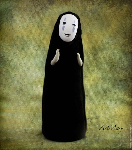 Коллекционные куклы ручной работы. Ярмарка Мастеров - ручная работа. Купить Безликий. Handmade. Черный, дух леса