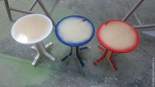 Мебель ручной работы. Ярмарка Мастеров - ручная работа. Купить Таб. Handmade. Разноцветный, фанера32мм