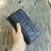 Сумки и аксессуары handmade. Livemaster - original item Wallet genuine leather alligator. Handmade.