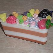 """Косметика ручной работы. Ярмарка Мастеров - ручная работа Мыло """"Фруктовый тортик"""". Handmade."""