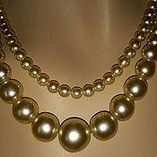 Винтаж handmade. Livemaster - original item Necklace PEARL beads vintage
