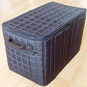 Классическая сумка ручной работы. Ярмарка Мастеров - ручная работа Органайзер в багажник автомобиля. Handmade.