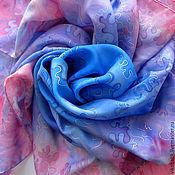 Аксессуары handmade. Livemaster - original item Handkerchief batik silk 100%
