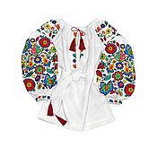 """Одежда handmade. Livemaster - original item Туника с вышивкой """"Буковинские Цветочки"""". Handmade."""