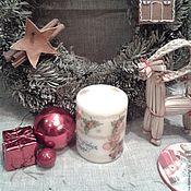 Сувениры и подарки handmade. Livemaster - original item Candles Christmas. Handmade.