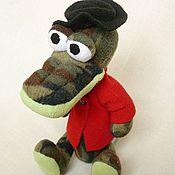 Куклы и игрушки ручной работы. Ярмарка Мастеров - ручная работа Крокодил Гена. Handmade.