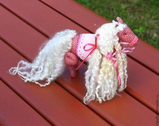 Куклы Тильды ручной работы. Ярмарка Мастеров - ручная работа. Купить Звездная лошадка. Handmade. Розовый, лошадь, детская игрушка