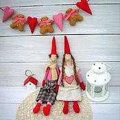 Куклы и игрушки ручной работы. Ярмарка Мастеров - ручная работа Эльфы Гномы Рождество. Handmade.
