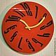 """Часы для дома ручной работы. Ярмарка Мастеров - ручная работа. Купить Часы """"Дали"""". Handmade. Часы настенные, часы для дачи"""