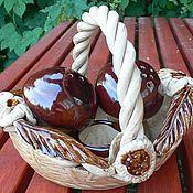 Сувениры и подарки ручной работы. Ярмарка Мастеров - ручная работа набор для соли и перца. Handmade.
