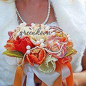 """Свадебный салон ручной работы. Ярмарка Мастеров - ручная работа Букет невесты """"Хорватская осень"""". Handmade."""