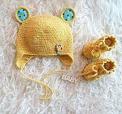 Работы для детей, ручной работы. Ярмарка Мастеров - ручная работа Комплект для малыша. Handmade.